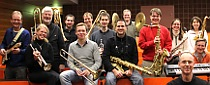 sidewinder bigband South Meets West   Sidewinder Big Band & Big Band West stellwerk